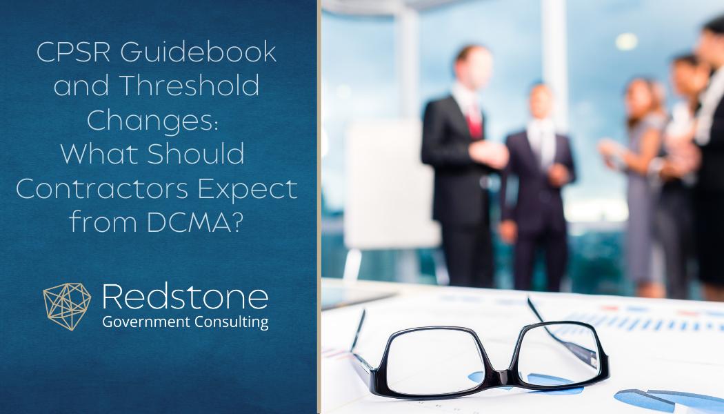 RCGI-CPSR Guidebook and Threshold Changes 2018