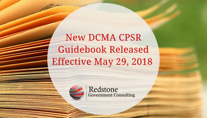 RCGI-New DCMA CPSR Guidebook Released May 2018