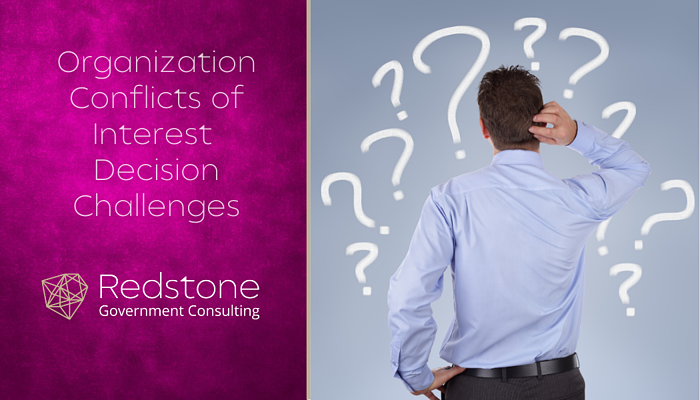 RCGI-Organizational Conflicts of Interest (OCI) Challenges