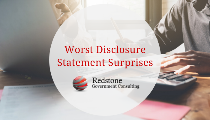 RCGI-Worst Disclosure Statement Surprises