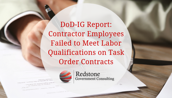 RGCI-DoD-IG Oasis Labor Qualifications