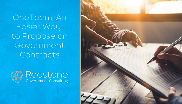 RGCI-OneTeam An Easier Way to Propose on Government Contracts