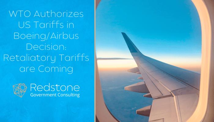 RGCI-WTO Authorizes US Tariffs in Boeing Airbus Decision