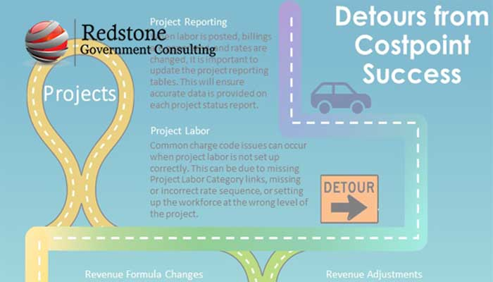 Costpoint: Detours to the Road of Success in the Project Module - Redstone gci