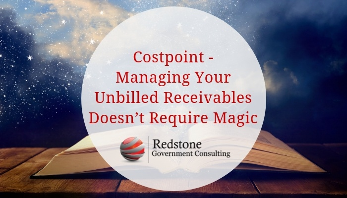 RCGI-Costpoint Managing Your Unbilled Receivables
