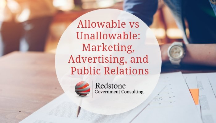 RGCI- Allowable vs Unallowable_ Marketing, Advertising, and Public Relations