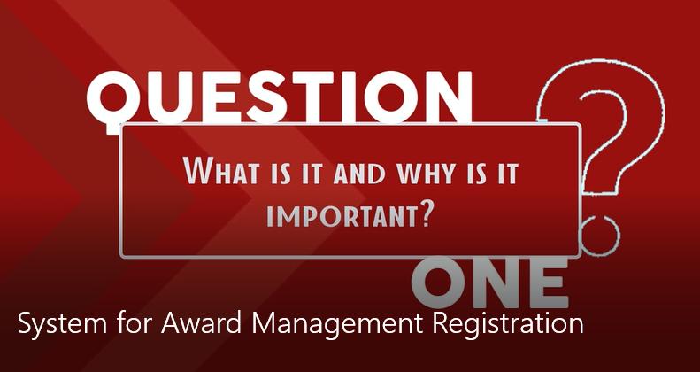 System for Award Management Registration - Redstone gci