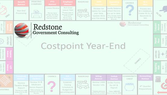 Costpoint Year-End - Redstone gci