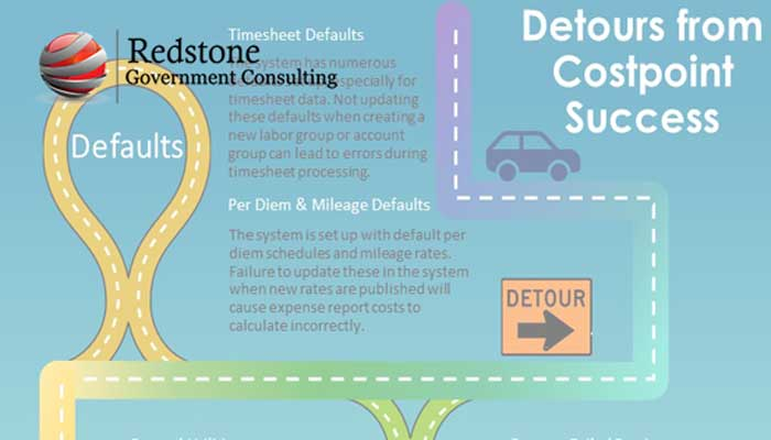 Costpoint: Detours to the Road of Overall Success with the System - Redstone gci