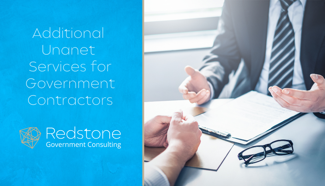 Additional Unanet Services for Government Contractors - Redstone gci