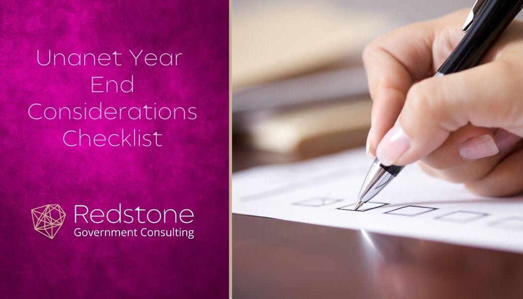 RCGI-Unanet-Year-End-Considerations-Checklist