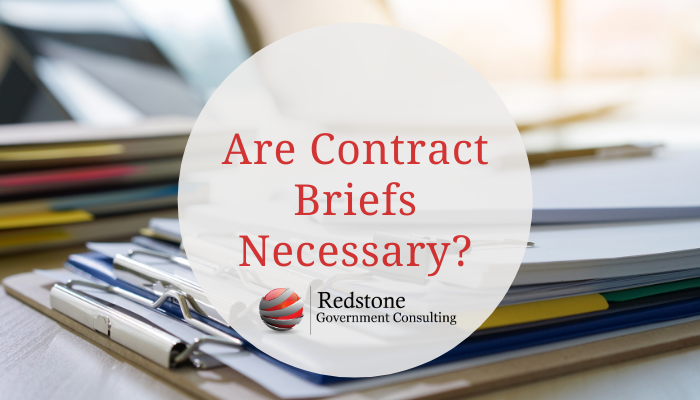 Are Contract Briefs Necessary? - Redstone gci