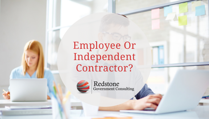 Employee or Independent Contractor? - Redstone gci