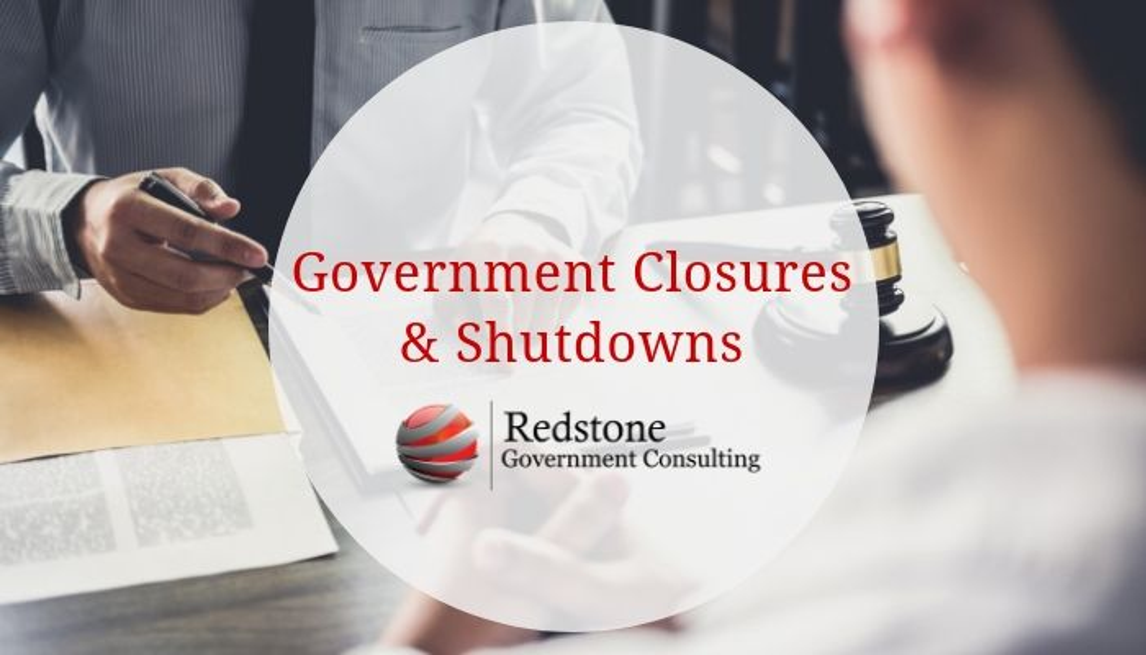Government Closures & Shutdowns for Government Contractors - Redstone gci