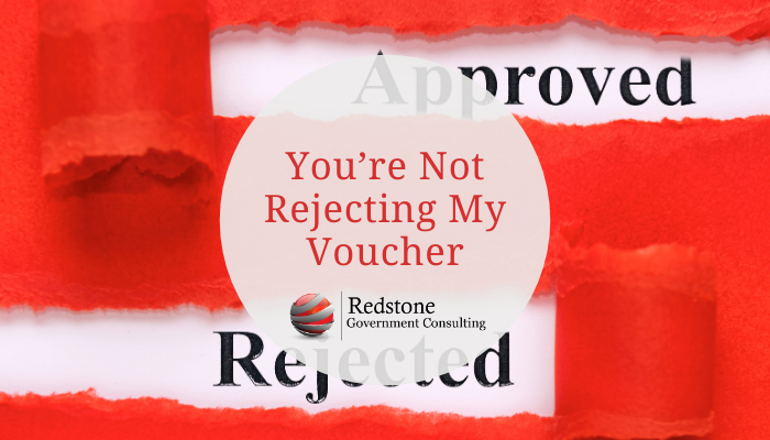 You're Not Rejecting My Voucher - Redstone gci