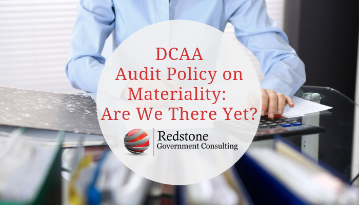 RGCI-DCAA Audit Policy on Materiality Are We There Yet