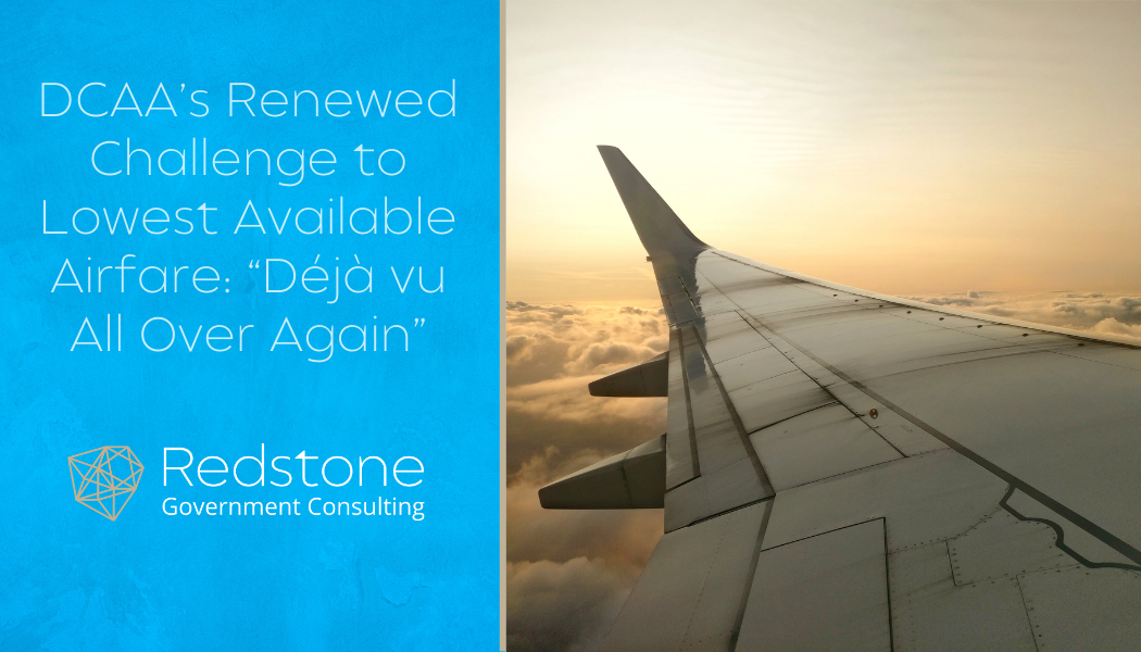 RGCI-DCAAs Renewed Challenge to Lowest Available Airfare