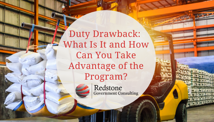 Duty Drawback - Redstone Government Consulting
