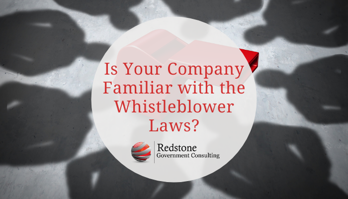 Is Your Company Familiar with the Whistleblower Laws? - Redstone gci