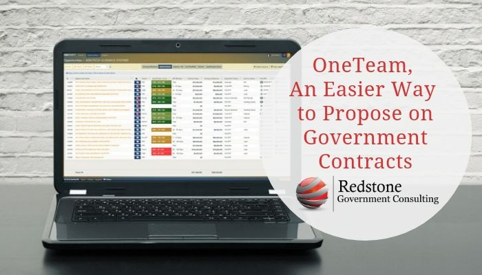 OneTeam, An Easier Way to Propose on Government Contracts - Redstone gci