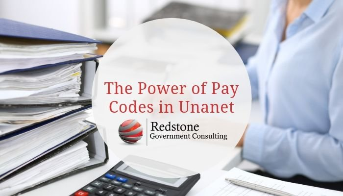 The Power of Pay Codes in Unanet - Redstone gci