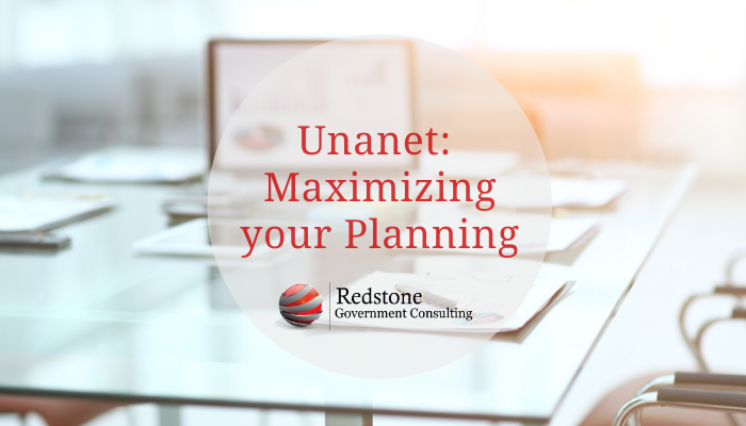 Unanet: Maximizing Your Planning - Redstone gci