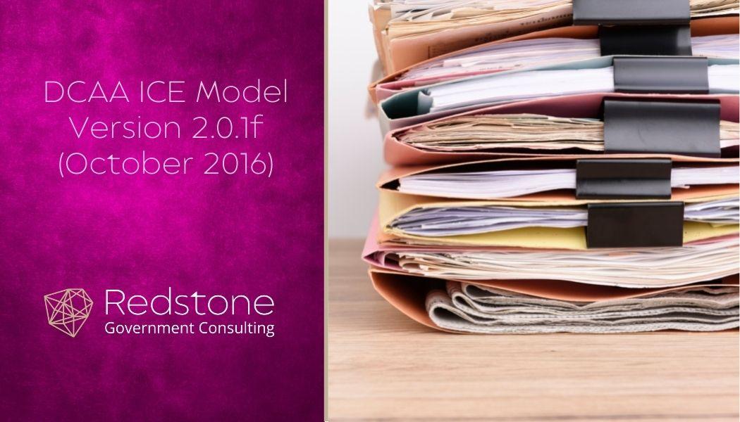 Redstone - DCAA ICE Model Version 2.0.1f (October 2016)