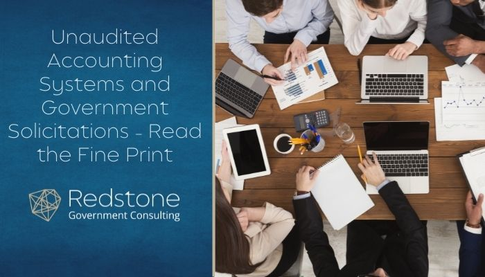 Redstone - Unaudited Accounting Systems and Government Solicitations.jpg