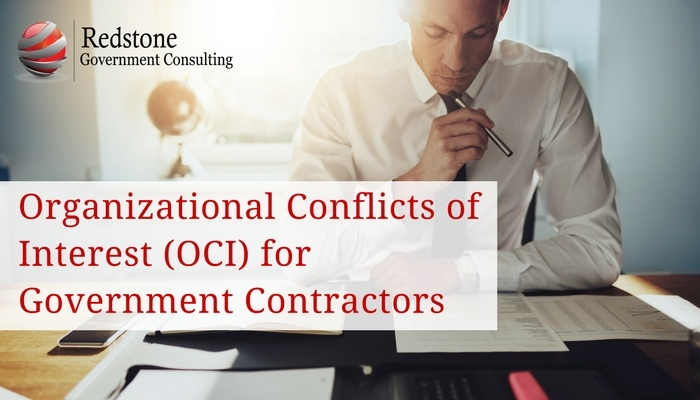 Organizational Conflicts of Interest (OCI) for Government Contractors - Redstone gci
