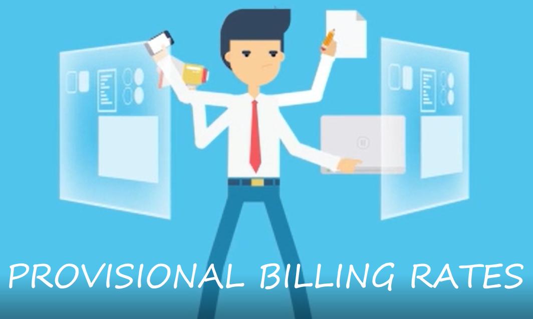 Provisional Billing Rates - Redstone gci